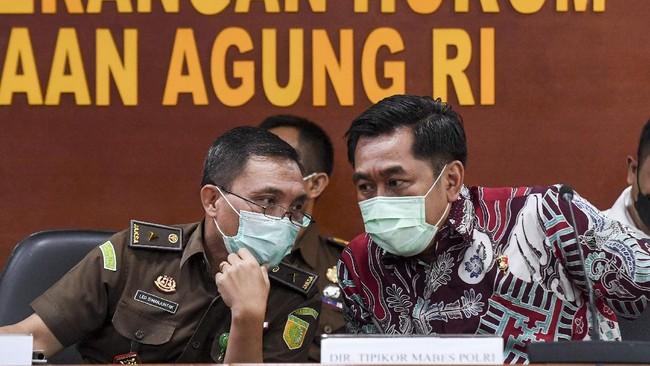 Adu Penanganan Korupsi Sepanjang 2021, KPK Keok dari Kejagung