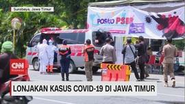 VIDEO: Lonjakan Kasus Covid-19 di Jawa Timur