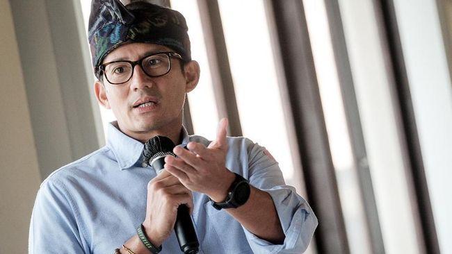 Menparekraf Sandiaga Salahuddin Uno mengaku telah melakukan pemeriksaan kesehatan melalui tes swab virus corona setiap hari pada minggu ini.