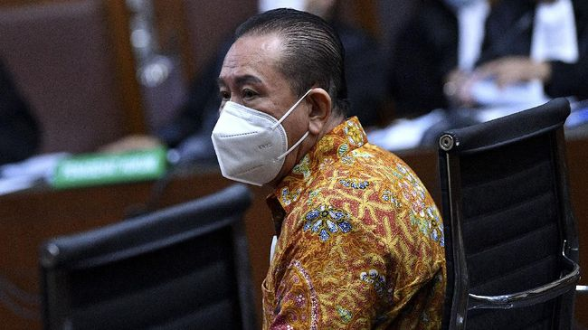 Terdakwa kasus suap Djoko Tjandra mengaku sempat akan bertemu Wapres Ma'ruf Amin di Malaysia namun urung dilakukan.
