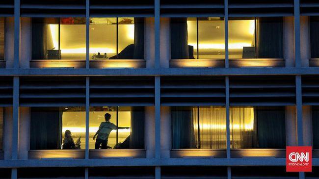 Perhimpunan Hotel dan Restoran Indonesia (PHRI) DKI menyebut tingkat hunian hotel saat ini hanya 20 persen. Pengusaha hotel terancam tutup permanen.