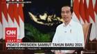 VIDEO: Pidato Presiden Sambut Tahun Baru 2021