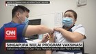 VIDEO: Singapura Mulai Program Vaksinasi Covid-19
