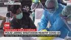 VIDEO: Polisi Jaring Wisatawan Reaktif Covid-19