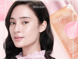 Wardah Hydra Rose Dewy Aqua Day Gel
