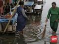 7 RT dan 15 Jalan Tergenang Banjir Jakarta