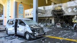 FOTO: Dampak Ledakan `Penyambut` Pemerintahan Baru Yaman