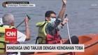 VIDEO: Sandiaga Uno Takjub Dengan Keindahan Toba