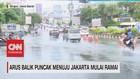 VIDEO: Arus Balik Puncak Menuju Jakarta Mulai Ramai