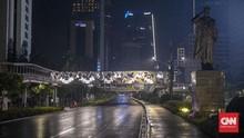 Malam Takbiran, Car Free Night Berlaku di Sudirman-Thamrin