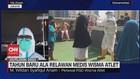 VIDEO: Tahun Baru Ala Relawan Medis Wisma Atlet