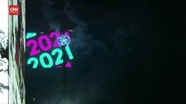 VIDEO: Perayaan Sunyi Tahun Baru 2021 di Penjuru Dunia