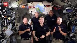 VIDEO: Cara Unik Astronaut di ISS Rayakan Tahun Baru