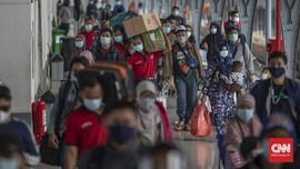 11 Ribu Penumpang Kereta Tinggalkan Jakarta Hari Ini