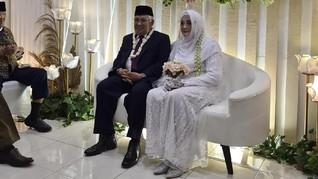 Menikah, Din Syamsuddin Banjir Ucapan Selamat di Twitter