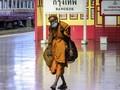 FOTO: Bangkok Lockdown Akibat Lonjakan Kasus Covid-19