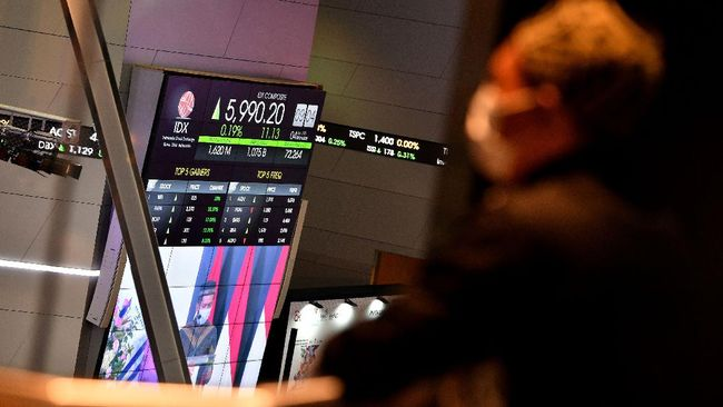 Indeks Harga Saham Gabungan (IHSG) ditutup menguat di level 6.104,9 pada akhir perdagangan hari ini, Senin (4/1).