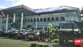 Kendaraan Taktis Polri Bersiaga Jelang Praperadilan Rizieq