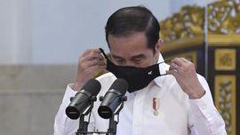 Jokowi Disuntik Vaksin Sinovac Pagi Ini di Istana