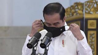 Jokowi 'Sindir' Ekspor Naik, Tapi Cuma dari Sawit