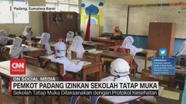 VIDEO: Pemkot Padang Izinkan Sekolah Tatap Muka