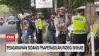 VIDEO: Pengamanan Sidang Praperadilan Rizieq Shihab