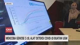 VIDEO: Mencoba Genose C-19, Alat Deteksi Covid-19 Buatan UGM