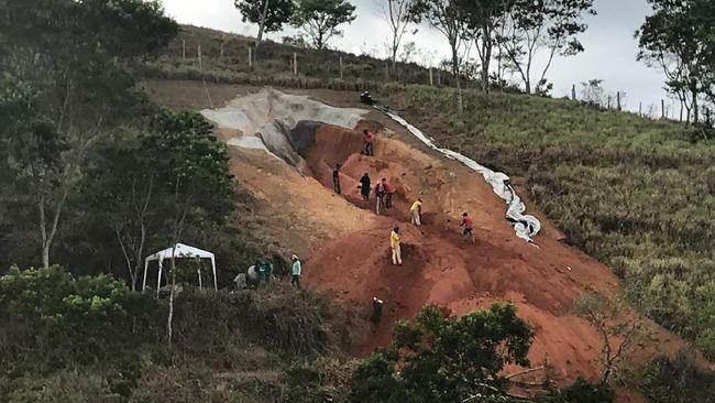 Patung raksasa berbentuk vagina pada museum terbuka di negara bagian Pernambuco, Brasil, menuai kontroversi.