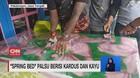 VIDEO: Spring Bed Palsu Berisi Kardus dan Kayu