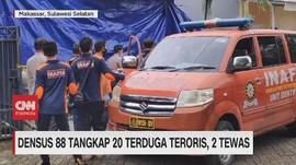 VIDEO: Densus 88 Tangkap 20 Terduga Teroris, 2 Tewas
