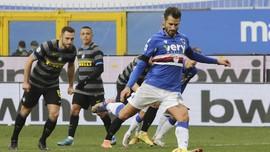 Hasil Liga Italia: Inter Milan Kalah 1-2 dari Sampdoria