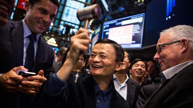 Pendiri Alibaba dan Ant Group Jack Ma tiba-tiba muncul di kantor pusatnya di Hangzhou, China.