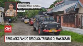 VIDEO: Penangkapan 20 Terduga Teroris di Makassar
