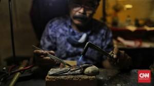 FOTO: Wajah Lesu Cikini Gold Center di Tengah Pandemi