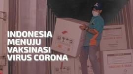 VIDEO: Indonesia Menuju Vaksinasi Virus Corona