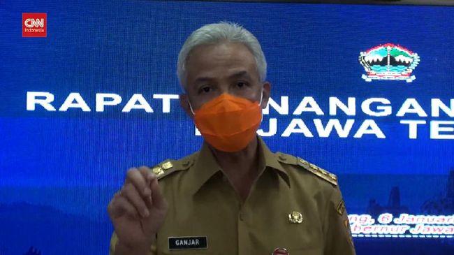 VIDEO: Ganjar Tak Terapkan PSBB di Seluruh Jateng
