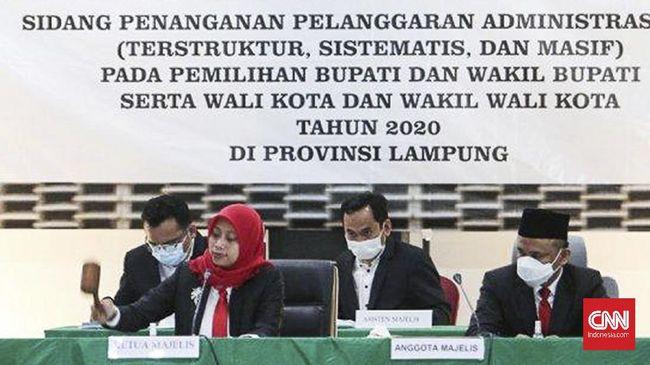 Pemenang Pilkada Bandar Lampung mengajukan gugatan ke MA atas putusan diskualifikasi KPU yang membatalkan kemenangan paslon nomor 3 itu