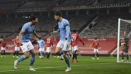 Hasil Carabao Cup 2021: Man City Melaju ke Final