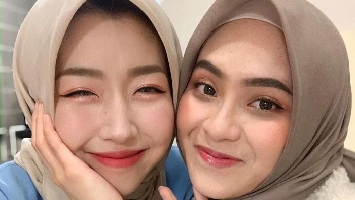 Dimake Over Bianca Kartika, Cantiknya Sunny Dahye dengan Hijab