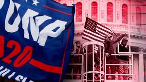 Massa Trump Serang Capitol Hill
