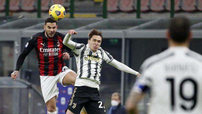 Upaya Juventus mengejar AC Milan di puncak klasemen Liga Italia mendapat adangan dari skuad yang mulai keropos.