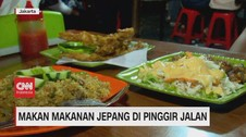 VIDEO: Makan Makanan Jepang di Pinggir Jalan