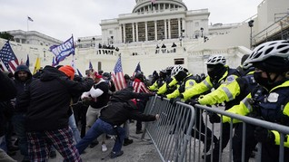 Gedung Capitol Rusuh, Netizen Ribut Soal Trump dan Amerika