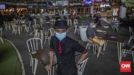 FOTO: Persiapan Jakarta Jelang PPKM Jawa-Bali