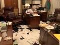 VIDEO: Ruang Senat Berantakan Dirusak Pedemo Capitol Hill