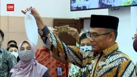 VIDEO: Menko PMK Muhadjir Mencoba GeNose C-19
