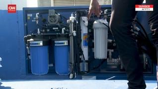 VIDEO: Perusahaan Israel Buat Air Minum dari Udara untuk Gaza