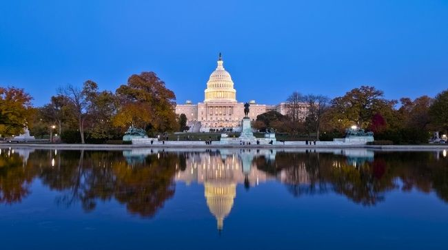Wujud Gedung Capitol Hill mungkin tak asing bagi banyak orang, karena sering muncul dalam serial televisi dan film Hollywood.
