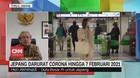 VIDEO: Jepang Darurat Corona Hingga 7 Februari 2021