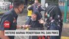 VIDEO: Menolak Ditertibkan, PKL dan PMKS Histeris